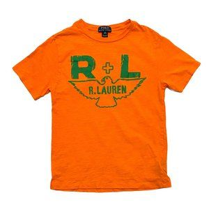 Polo Ralph Lauren Orange Eagle Print T-Shirt